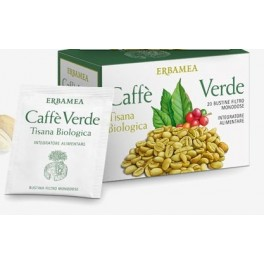 Erbamea Caffè verde 20 filtri monodose